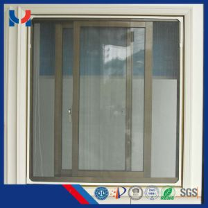 Fiberglass Insect Window Screen Mesh by PVC Coated Yarn pictures & photos