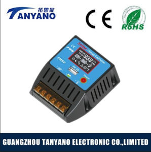 High Quality 10A 20A Solar Panel Controller with LCD