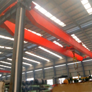 Material Lifting 10t Single Overhead Crane Apply in Workshop pictures & photos