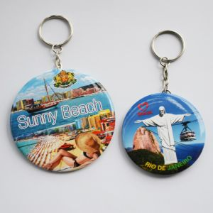 Hot Selling Good Quality with Keychain Tin Mirror for Promotional Gifts pictures & photos