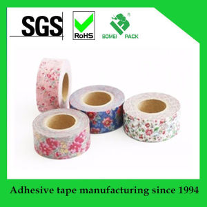 Hot Sale Popular Washy Tape Customer Design Printed Tape pictures & photos