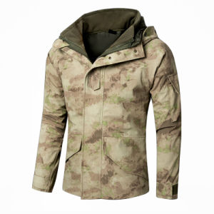 Fashion G8 Tactical Windproof Waterproof Jacket with Fleece Liner pictures & photos