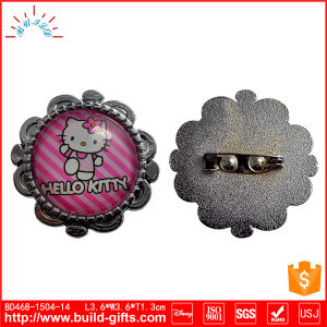 Custom Die-Casting Metal Safety Lapel Pin Badge pictures & photos