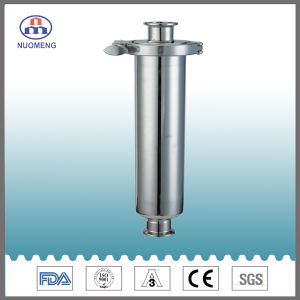 Sanitary Stainless Steel Clamped Straight Strainer (SMS-No. NM100202) pictures & photos