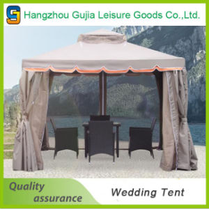 Garden Outdoor Wedding/Party Double Roof Gazebo Tent with Walls pictures & photos