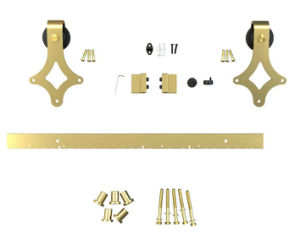 Gold Color Classical Diamond Style Track Interior Sliding Barn Door Roller pictures & photos