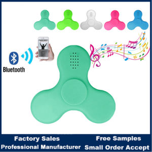 LED Fidget Plastic Spinner with Bluetooth Speaker pictures & photos