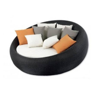 Outdoor Garden Swimming Pool Beach Furniture Rattan Lying Lounge Bed Sunbed Daybed pictures & photos