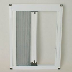 Window Detachable Pleated Retractable Fly Screen pictures & photos
