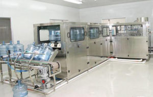 SGS Qgf-450 Automatic 5 Gallon Barreled Production Line