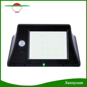 Light and Human Body Induction Solar Power 20 LED Motion Sensor Light IP65 Waterproof Outdoor Garden Pathway Solar Wall Lamp pictures & photos
