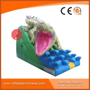 2017 High Quality 0.55mm PVC Tarapulin Inflatable Crocodile Slide (T4-121) pictures & photos