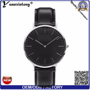Yxl-463 Custom OEM Watch Promotional Trendy Genuine Leather Dw Style Vogue Watches Bracelet Watches Casual Ladies Quartz Watch pictures & photos