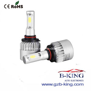 New Arrival Canbus S2 9005 8000lm 36W COB LED Headlight pictures & photos