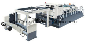Twin Knfe Rotary Paper Sheeter with Pneumatic Slitting Units pictures & photos