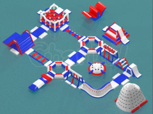 Hot Design Giant Inflatable Water Park Inflatable Aqua Park Factory Supply pictures & photos