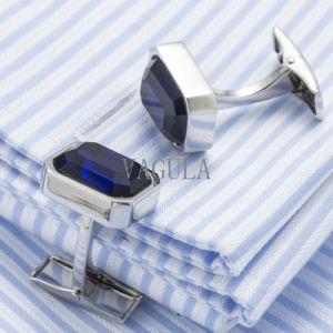 VAGULA Crystal Men French Cufflinks Wedding Gift Gemelos Zircon Cuff Links 519 pictures & photos
