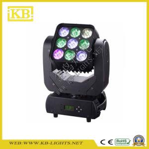 9PCS LED Moving Head Matrix Light pictures & photos