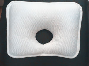 New Design 3D Polyester Mesh Pillow Hollow Baby Head Shaping Pillow pictures & photos