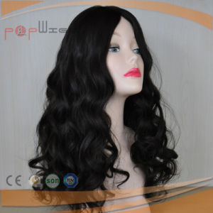 Natural Human Hair Wave Style Silk Top Lace Closure Toupee Hairpiece pictures & photos