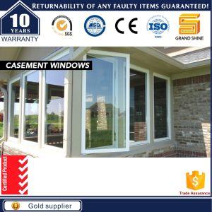 Price of Aluminium Pivot Mullion Casement Window Made in China pictures & photos