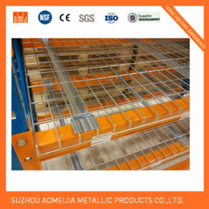 Heavy Duty Galvanized Wire Mesh Deck Railing for Pallet Rack pictures & photos