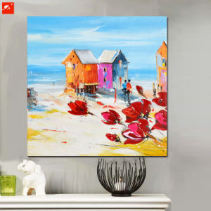 Seaside Scene Wall Decor Abstract Handmade Oil Painting pictures & photos