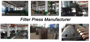 Plate and Frame Filter Press for Wastewater Treatment pictures & photos