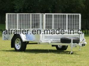 8 X 5 Ramp Single Axle Utility Trailer pictures & photos