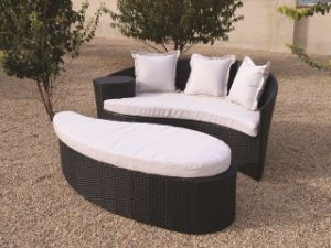 Fiji Rattan Outdoor Garden Daybed pictures & photos