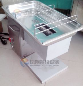 Desk-Top Portable Small Economic Chicken Fish Meat Cutter for Small Restaurant pictures & photos