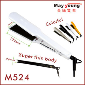 Extra Long Professional Hair Straightener, LED Display pictures & photos