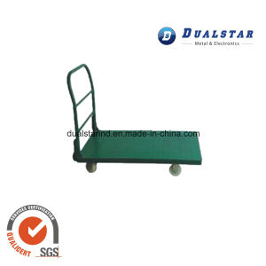 Green Logistics Flat Cart for Supermarket