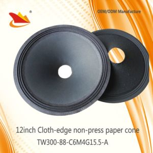 Free Sample 12inch PA System Parts Paper Cone-Speaker Parts Cone pictures & photos