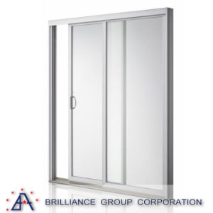 As2047standard Aluminium French Sliding Glass Door for Rooms pictures & photos