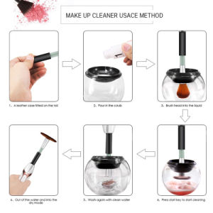 Private Label Stylpro Fashion Travel Cosmetic Makeup Brush Cleaner pictures & photos