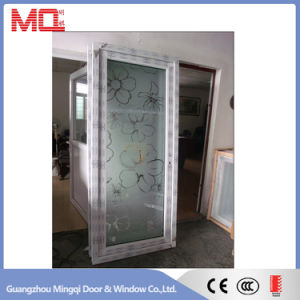 Waterproof Frosted Glass PVC Bathroom Door pictures & photos