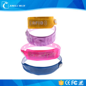 RFID One-Time Disposable PVC Wristband, Used in Hospital and Club pictures & photos