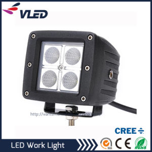 12V 12W Spot/Flood Magnetic Base LED Working Lights for Heavy Duty off Road Truck pictures & photos