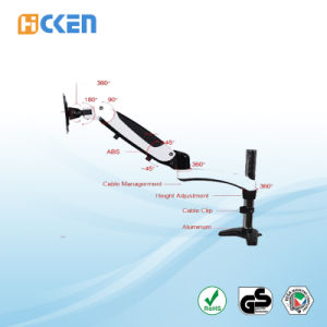 High Quality Adjustable Computer LCD Monitor Mount pictures & photos