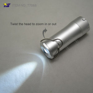 Extendable Aluminum LED Lantern with Torch (T7088) pictures & photos