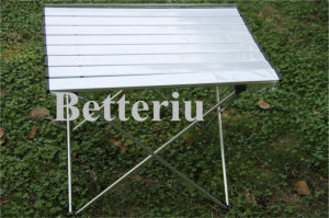 Aluminum Roll up Table Folding Camping pictures & photos