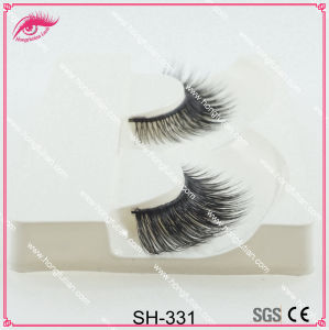 Cosmetic Artificial Real Mink Fur Eyelash pictures & photos