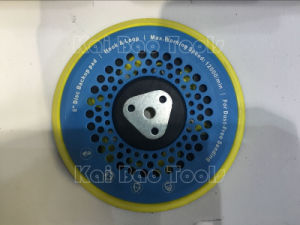 6inch Sander Backing Pad with 8+8+1 Hole pictures & photos