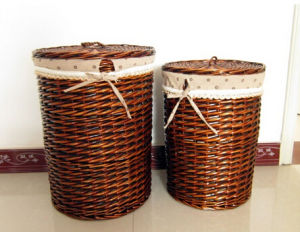 Eco-Fiendly Handmade Natual Basket (BC-ST1219) pictures & photos