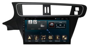 New Ui Android 6.0 Car Navigation for Peugeot C3-Xr 2014 with Car GPS Player