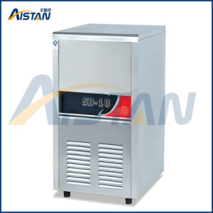 R134A Refrigerant Zanussi Compressor Free Standing Ice Making Machine pictures & photos