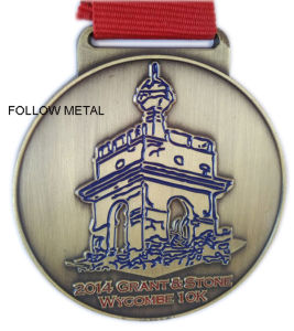 Wholesale Medals, Factory Direct Sales, Zinc Alloy Material, Grant & Stone pictures & photos