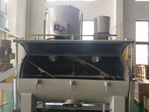 Horizontal PVC Resin Powder High Speed Mixer Unit