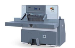 Digital Display Paper Cutting Machine (SQZX130G) pictures & photos